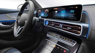 Mercedes EQC - cabin