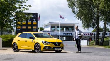 Renault Megane RS 300 Trophy trackday