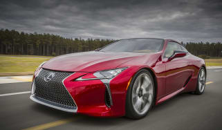 Lexus LC500 front tracking