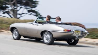 Jaguar E-Type Zero - rear tracking