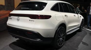 Mercedes EQC rear