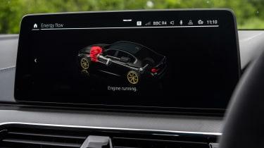 BMW M5 CS - infotainment