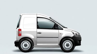 """<p class=""""p1"""">VW proposed the Caddy Maxi Mini, a 2.4m long micro van with one seat and only enough room for a tool box or the driver's lunch. Basically, you could take more with you if you got the bus.</p>"""