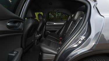 Alfa Romeo Stelvio - rear seats