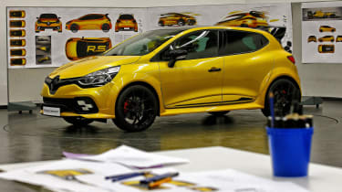 Renault Clio RenaultSport R.S.16 official - design