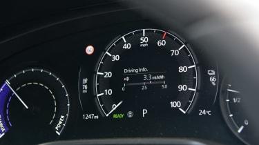 Mazda MX-30 long termer - first report dials