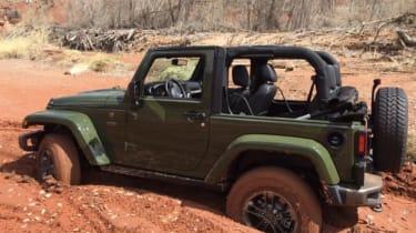 Jeep Wrangler 75th Anniversary - static