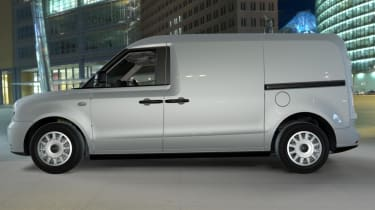 New LEVC plug-in electric van
