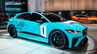 Jaguar I-Pace eTrophy - front