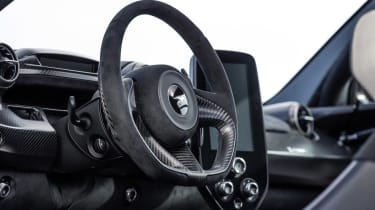 McLaren Senna - steering wheel