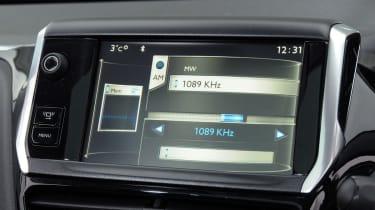 Peugeot 208 interior detail