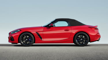 BMW Z4 - profile roof up