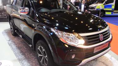 Fiat Fullback pick-up - show front quarter 2