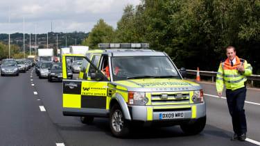 Road safety week, motorway, accident, highways agency
