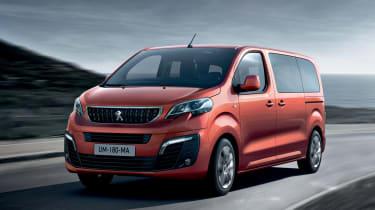 Peugeot Traveller MPV front