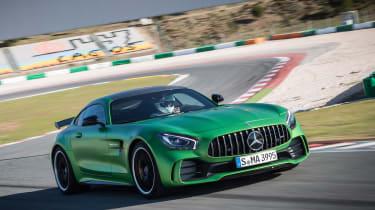 Mercedes-AMG GT R - track front cornering
