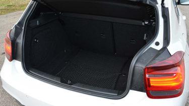 BMW M135i boot