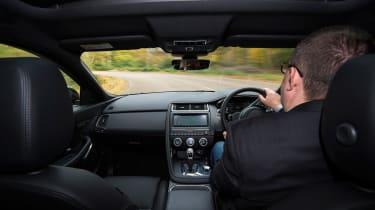 Jaguar E-Pace review - interior