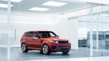 Jaguar Land Rover SVO facility - RR Sport presentation