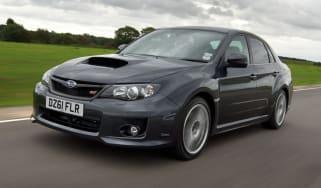 Subaru WRX STi saloon front tracking