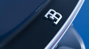 Bugatti Chiron - badge detail