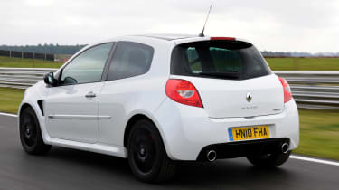 Renaultsport Clio – first diffuser on a small car