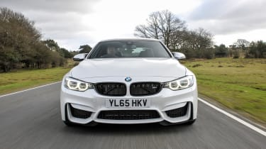 BMW M4 Competition Pack - full front