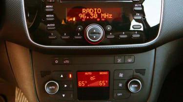 Fiat Punto TwinAir centre console