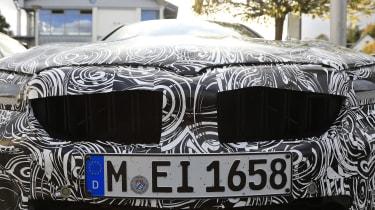 BMW M5 facelift - spyshot 12