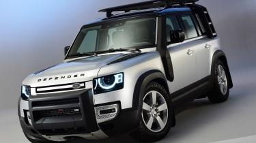 Land Rover Defender - studio front static