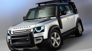 Land Rover Defender - studio front static