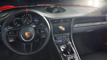 Porsche 911 Speedster - dash