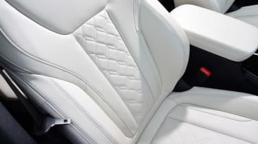 BMW X3 M40i - front seat