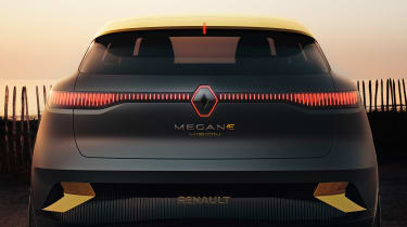 Renault Megane eVision - rear detail