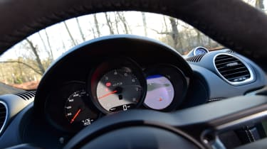 New Porsche Cayman GTS review - speedo