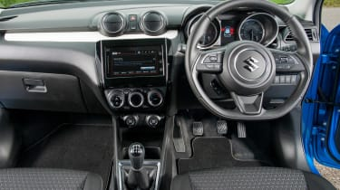 Suzuki Swift Allgrip - dash