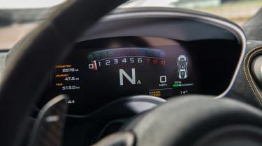 McLaren 570S Track Pack - dials