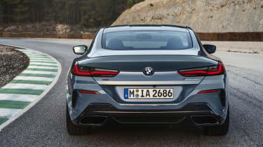 BMW 8 Series - full rear