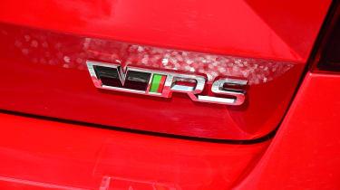 Skoda Octavia vRS Challenge - vRS badge