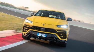 Lamborghini Urus - track full front