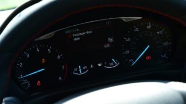 Ford Fiesta ST-Line dash