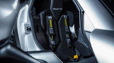 New Ginetta supercar interior