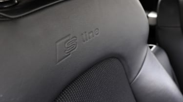 Used Audi A3 Mk2 - seat detail