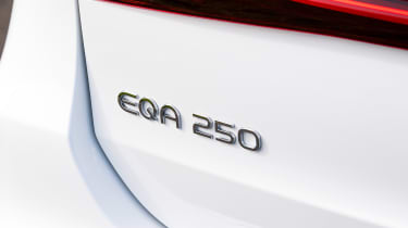 Mercedes EQA 250 - rear badge