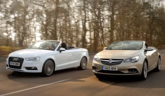 Audi-A3-Cabriolet-vs-Vauxhall-Cascada-front