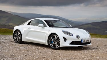 Alpine A110 Pure - front static