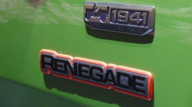 Jeep 75th Anniversary Geneva - badges
