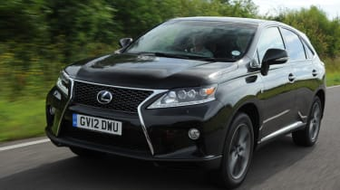 The lexus will be competing with the BMW X5 and Audi Q7.