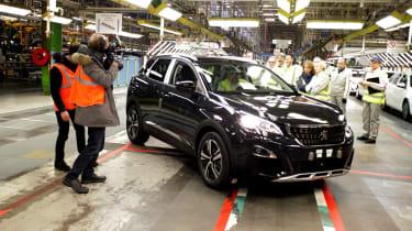 Peugeot's Sochaux factory 3008