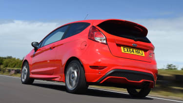 Ford Fiesta ST - rear tracking